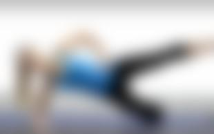 Nives Orešnik predstavlja vaje za vitke noge in čvrsto zadnjico