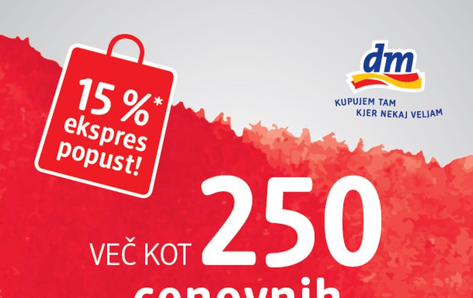 dm - cenovni bonbončki (foto: dm drogerie markt)