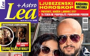 Nova Lea tudi o prvem poljubu Dejana Kontreca in Nine Osenar v javnosti!