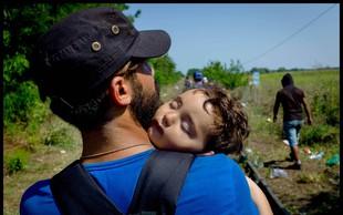 Rdeči križ Slovenije poziva javnost k zbiranju pomoči za begunce