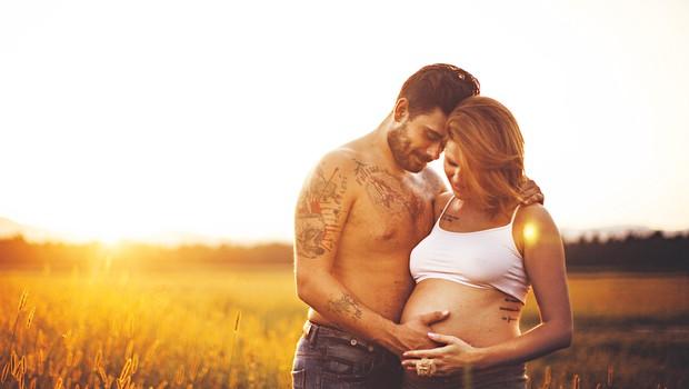 Jani se je ponovnega očetovstva zelo veselil. (foto: Janja Šnudler)