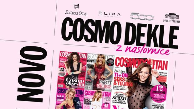 Kdo bo naslednje dekle s Cosmo naslovnice? (foto: Cosmopolitan Slovenija)