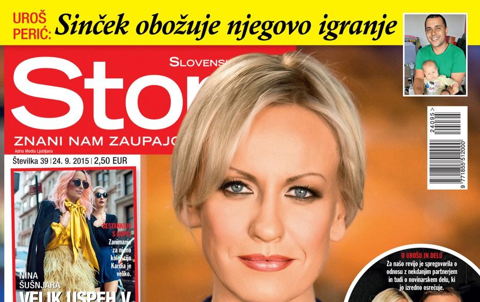 Petra Kerčmar iskreno v novi Story (foto: Adriamedia)