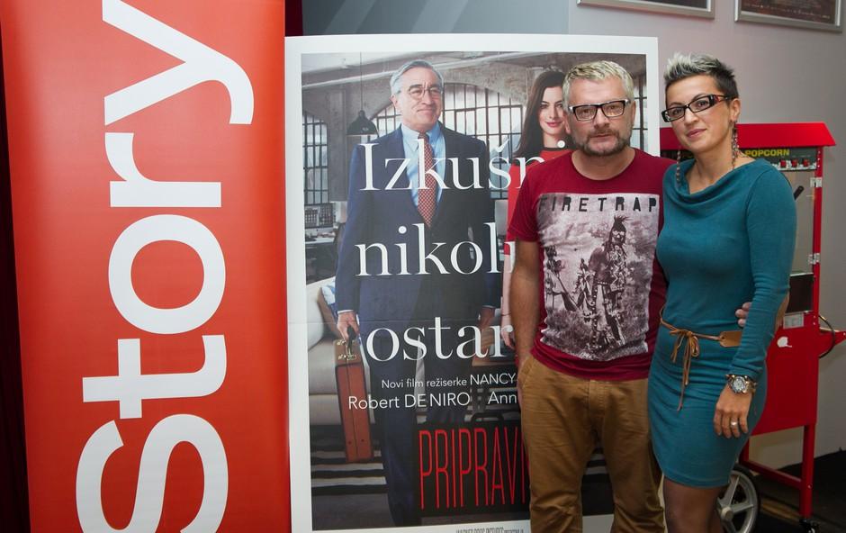 Na premieri filma Pripravnik smo se nasmejali in srečali nekaj znanih obrazov (foto: Adriamedia)