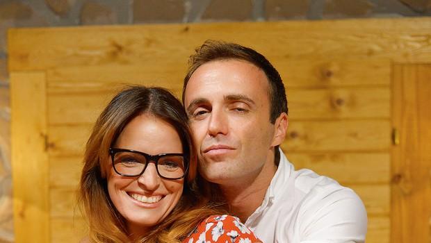Ranko in Ana sta med snemanjem prav zares postala čisto prava prijatelja. (foto: Primož Predalič)