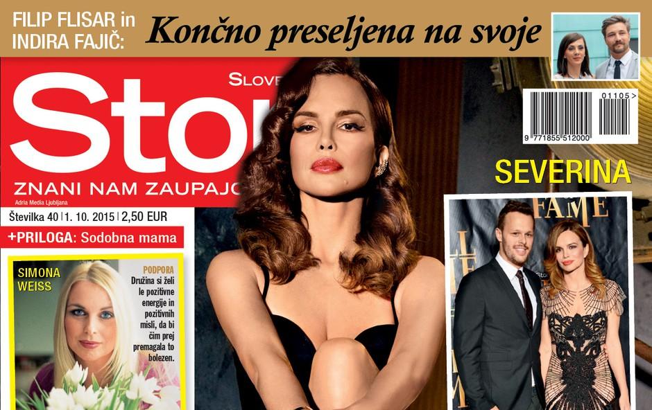 Severina v novi Story (foto: Adriamedia)