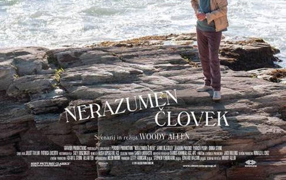 Woody Allen predstavlja film Nerazumen človek (foto: promo)