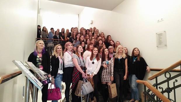 Nika Veger je pred dnevi izpeljala nadvse uspešen blogerski dogodek (foto: NIka Veger Press)