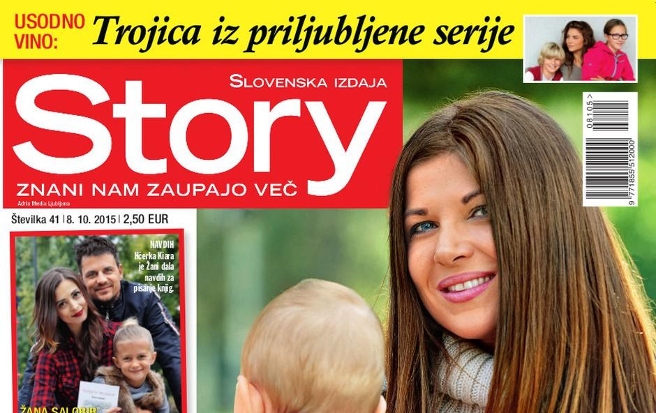 Prve družinske fotografije Jasne Kuljaj! Samo za Story! (foto: Story)