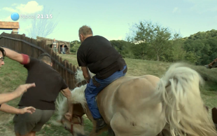 Video: Franca (Kmetija: Nov začetek) je s sebe vrgla kobila!