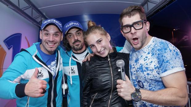 Karaoke izziv v Novem mestu (foto: Damjan Končar)