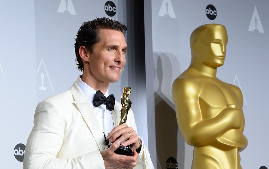 Matthew McConaughey bo postal profesor na fakulteti. Ne zaradi vloge, ampak zares! (foto: Profimedia)