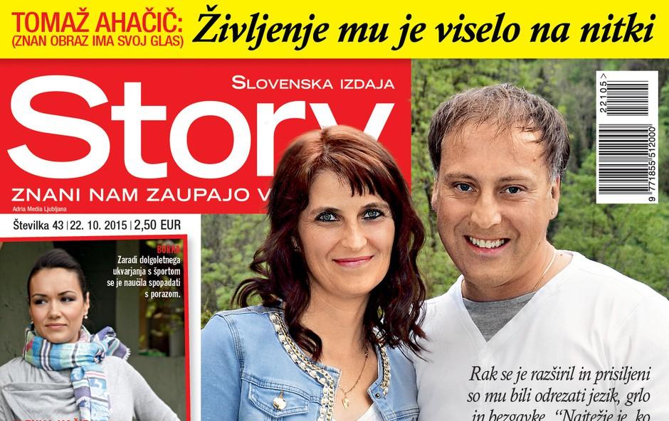 Tomaž Ahačič: Po operaciji še finančna stiska!