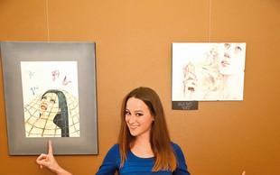 Anja Baš: Premagala bulimijo in se našla v slikarstvu