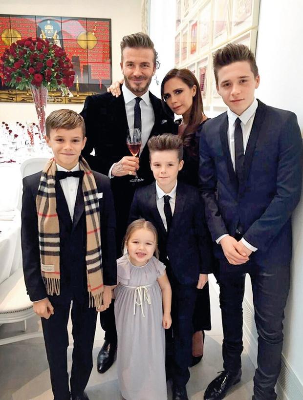 Beckhamovi: Novo domovanje na angleškem podeželju (foto: Profimedia)