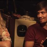 Klemen je z Ajdo Smrekar, s katero sta bila par tri leta in pol, lani zaigral v filmu Pot v raj. (foto: Lea Press)