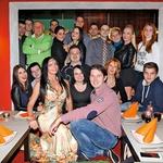 Po pregledu je Tomaž s  prijatelji iz Big Brotherja  proslavil v indijski  restavraciji Maharaja. (foto: Helena Kermelj)