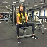 Manekenka Daša si vzame  čas za redne telesne  treninge in popolno  športno aktivnost. (foto: Osebni arhiv)
