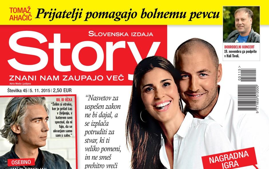 Vesna in Marko Milič za Story: »Za zakon se splača potruditi!«