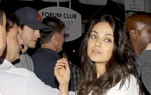 Milo Kunis skrbi, da bi ji Ashton storil to, kar je storil Demi!