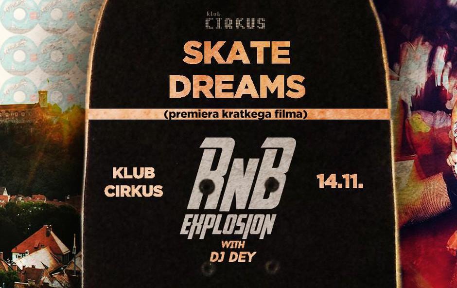 RnB Explosion & Premiera filma Skate Dreams (foto: fb)