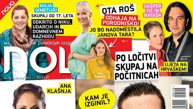 Tomaž je po ločitvi zaprl restavracijo, Ana Klašnja pa je noseča! (foto: Nova)