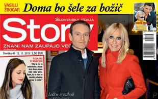 Petra Kerčmar in Uroš Slak navkljub ločitvi ostajata prijatelja, piše nova Story