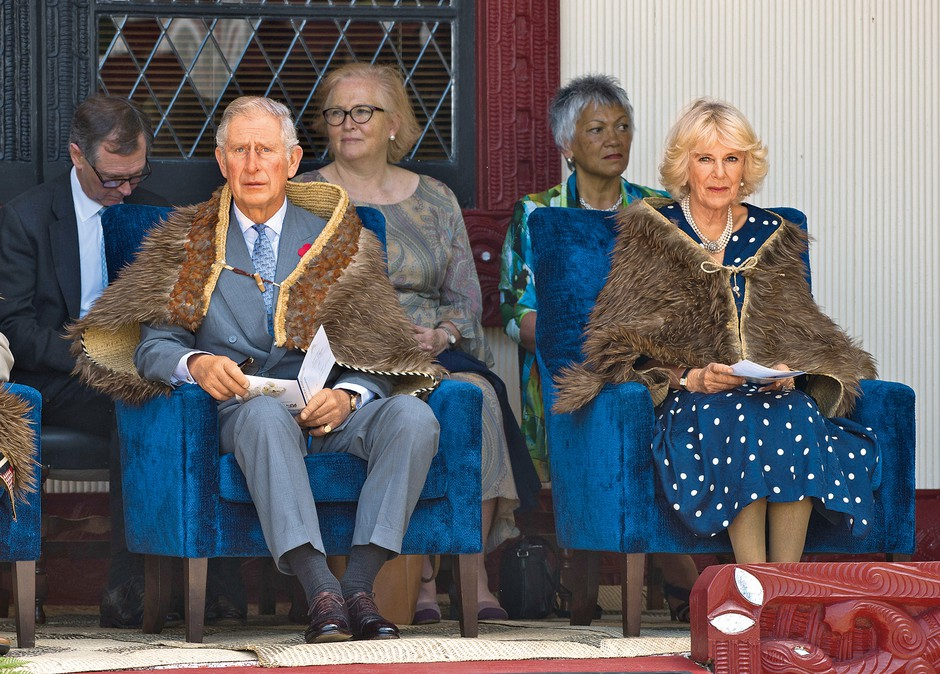 Obred je trajal več kot 90 minut in vsi so si šteli v veliko čast, da sta si ga Charles in Camilla ogledala. (foto: Profimedia)