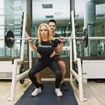 Špela je vesela, da ima pri treniranju ob sebi strokovnjaka Gregorja Poljanca. (foto: Lea Press)