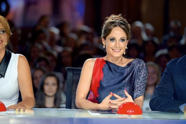 Ana je noseča že vse od začetka snemanja letošnje oddaje Slovenija ima talent, pravi pa, da je opazila številne spremembe pri sebi. (foto: Primož Predalič, POP TV)