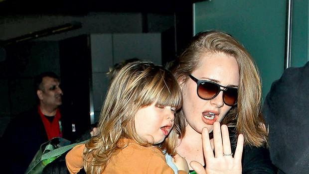 Adele: Nosečnost je prišla v popolnem trenutku! (foto: Profimedia)