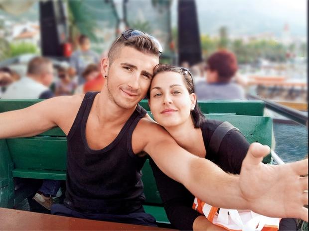 Mišo in Manuela sta se  spoznala na novoletni  zabavi v Kopru, in sicer  pred šestimi leti. (foto: Osebni arhiv)
