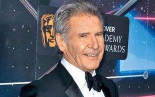 Harrison Ford z duhovitim nasvetom za srečno zakonsko življenje