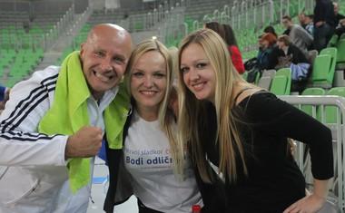 V Stožicah so znani Slovenci 'zabili' gol diabetesu!