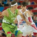 Miha Zupan - prvi gluhi košarkar, ki je nastopil na evropskem prvenstvu (foto: Goran Antley, Profimedia.si)