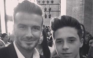 Pri Beckhamovih - kakršen oče, takšen sin?