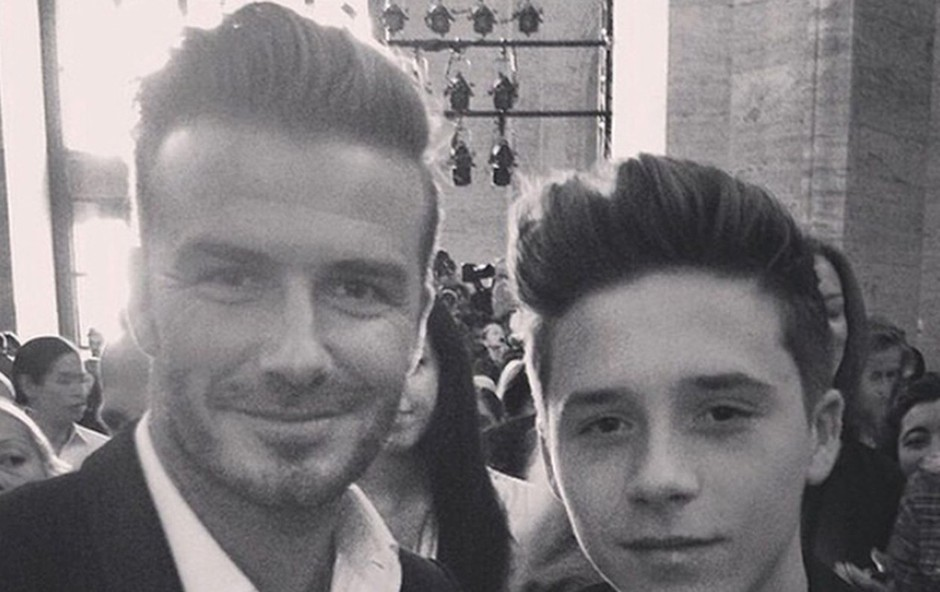 Pri Beckhamovih - kakršen oče, takšen sin? (foto: Profimedia)