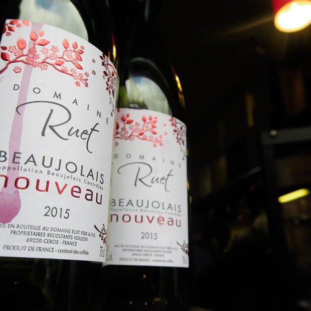 Beaujolais četrtek v Dvornem baru