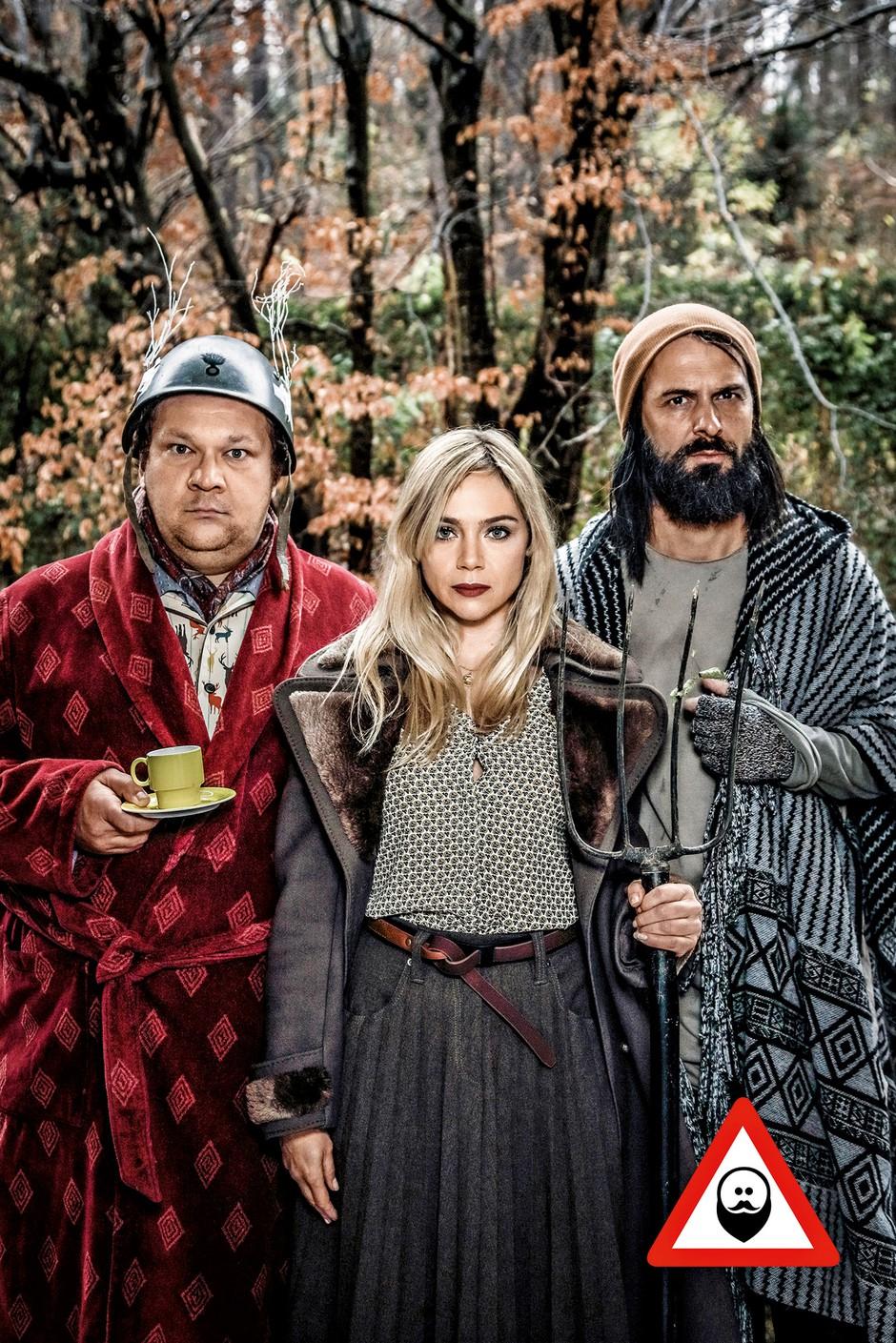 """Katarina Čas: """"Zaradi predstave ne bomo šli živet v gozd"""" (foto: Peter Giodani)"""