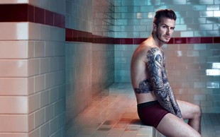 David Beckham je najbolj seksi moški na svetu!