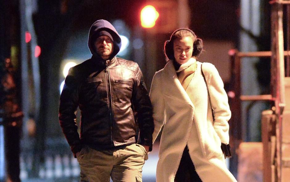 Bradley Cooper se je preselil k Irini! (foto: profimedia)