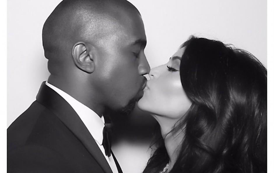 Kanye doživel kritike zaradi nič kaj prijaznega vedenja do Kim (foto: Profimedia)