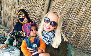 Ksenija (Big Brother): 'Šarmirala' po Egiptu