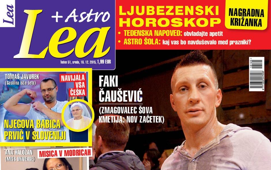 Faki Čaušević o vseh skrivnostih iz zakulisja - za novo Leo!