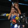 Miss Universe je bila zgolj nekaj kratkih minut ...