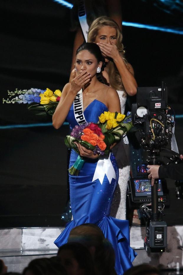 Miss Universe je bila zgolj nekaj kratkih minut ... (foto: profimedia)