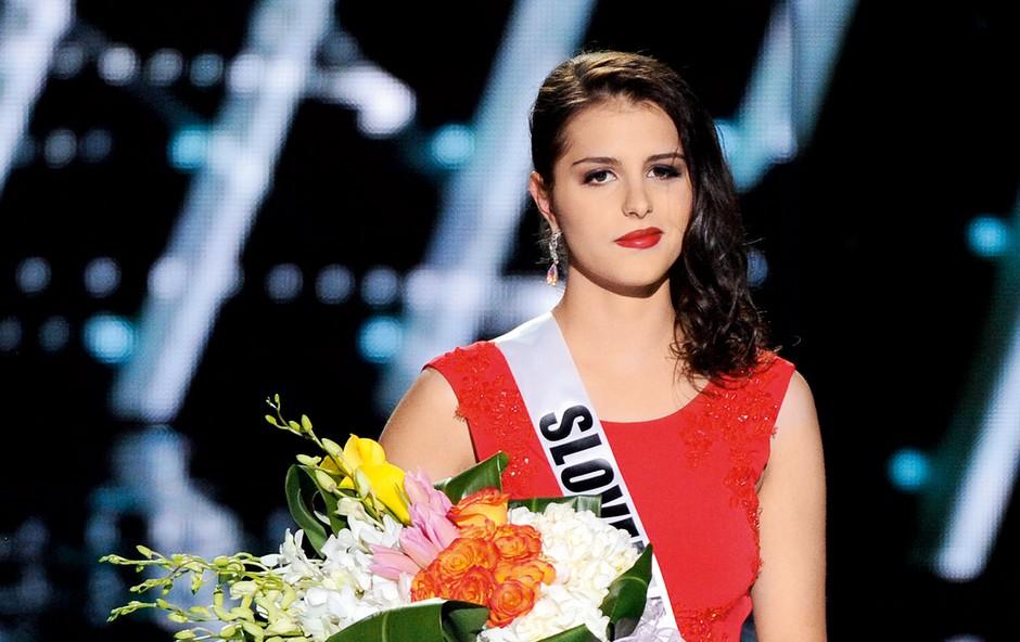 Čeprav zaradi  nesreče ni nastopila  na finalni prireditvi  Miss Universe v Las Vegasu, so Ani  omogočili nastop in njeno zgodbo delili s širnim svetom. (foto: Profimedia)