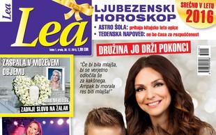 Natalija Verboten bi imela še enega otroka, piše nova Lea