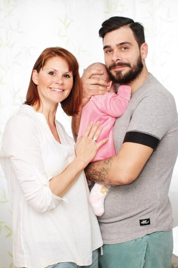 Teja, Jani in Sia  bodo najverjetneje  skupaj tudi pred  matičarjem. (foto: Goran Antley)
