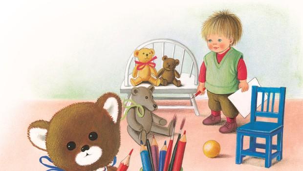 Cicibanova razstava Medvedi in medvedki v Galeriji Kresija! (foto: Jelka Reichman)